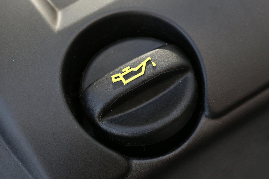 Deckel des Motoröls