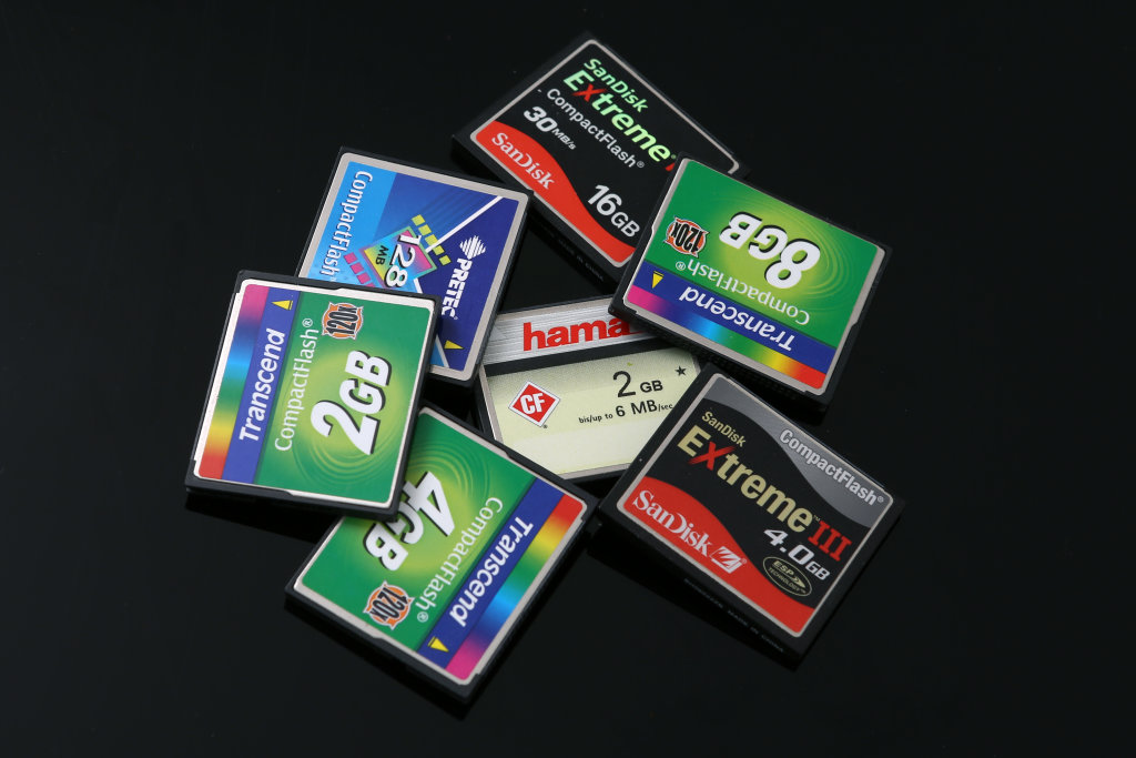 Compactflash Karten