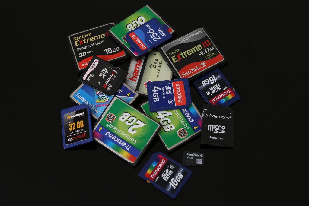 Speicherkarten