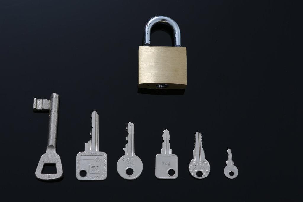 Schlüssel mit Schloss I