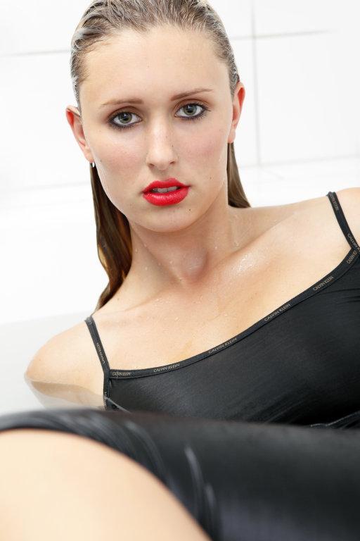 Frau mit sexy Blick