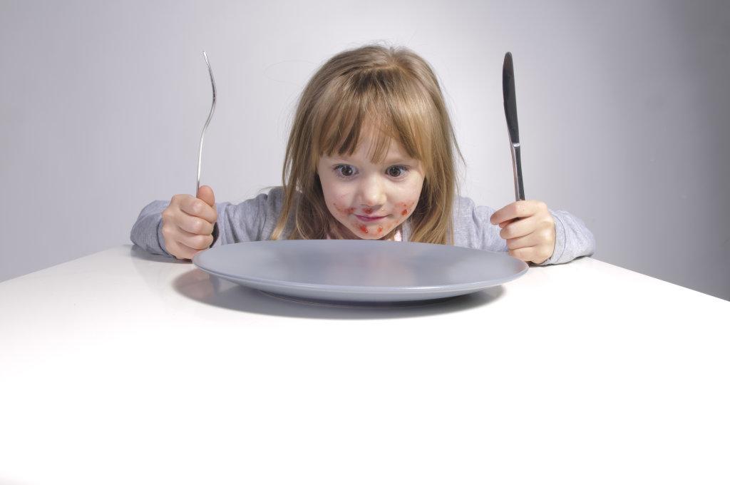 noch nichts zu essen