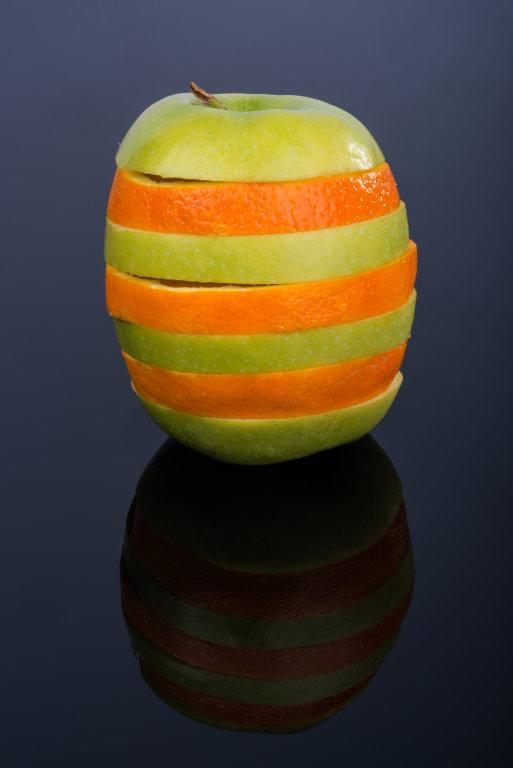 Apfel-Orange