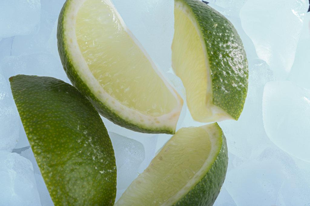 Limonen im Eis