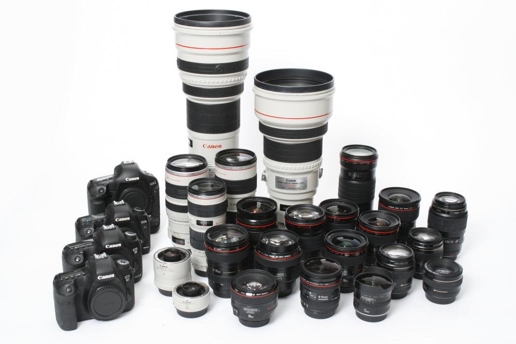 Objektive und Kameras