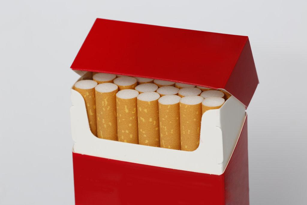 Zigarettenschachtel