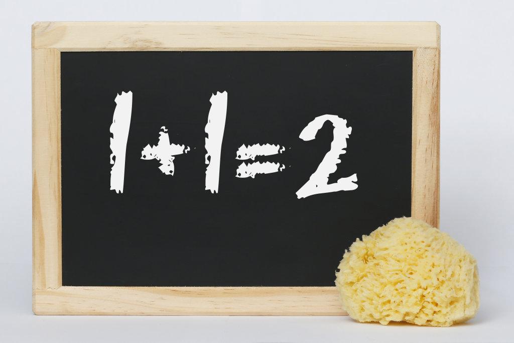 Tafel   1+1=2