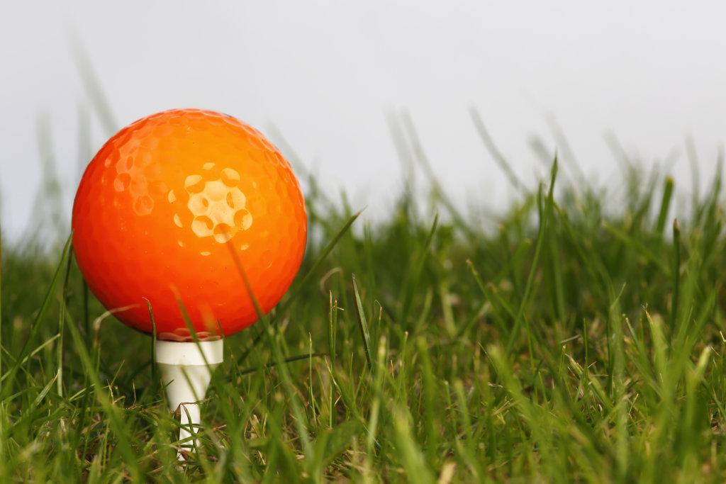 Golfball (orange)