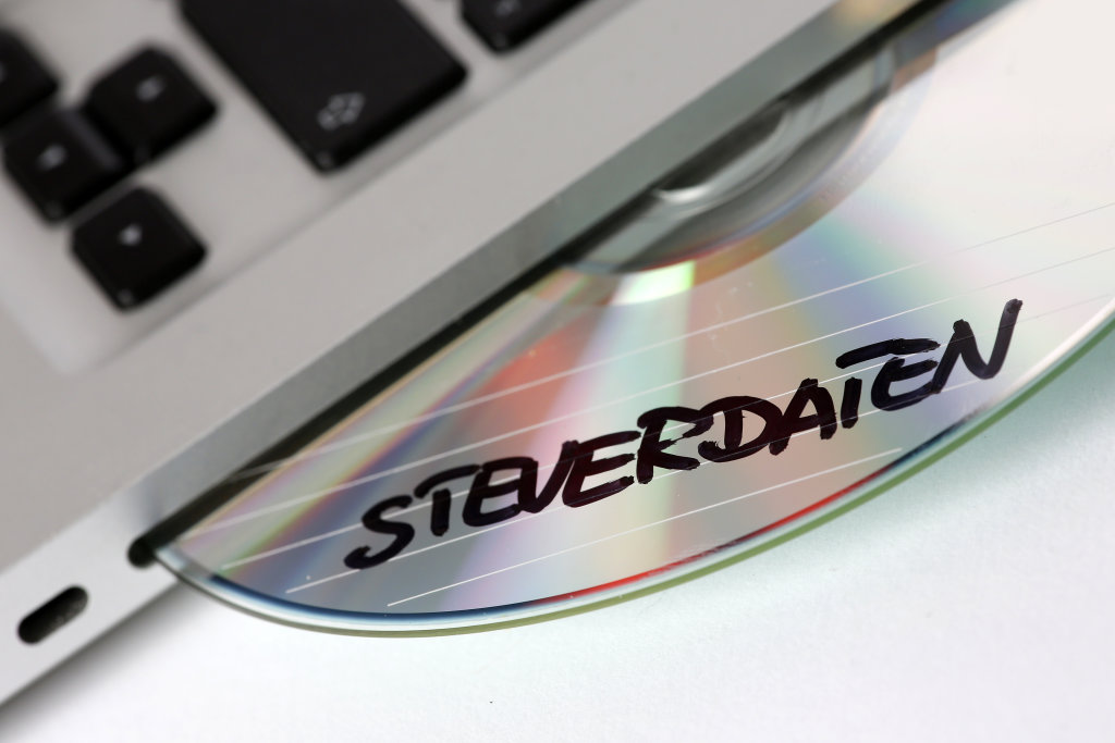 CD-ROM Steuerdaten