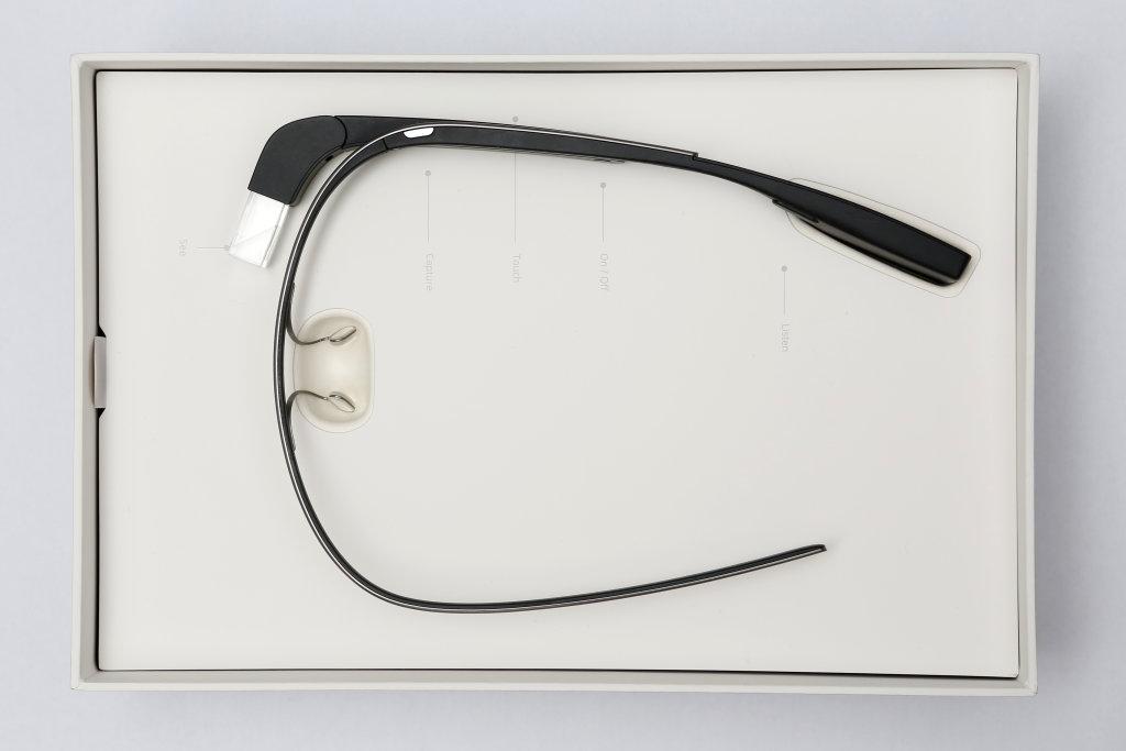 Google Glass in Verpackung