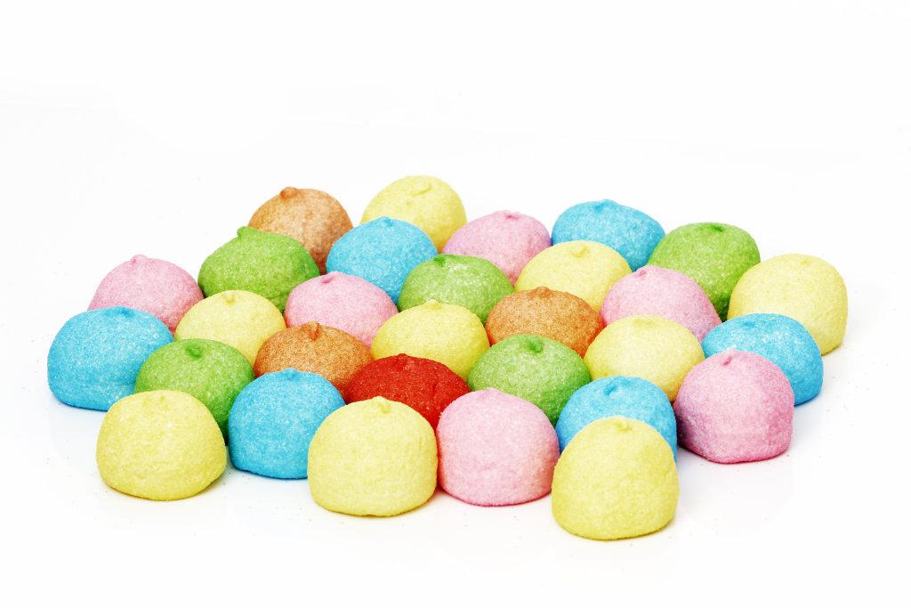 bunte Marshmallows