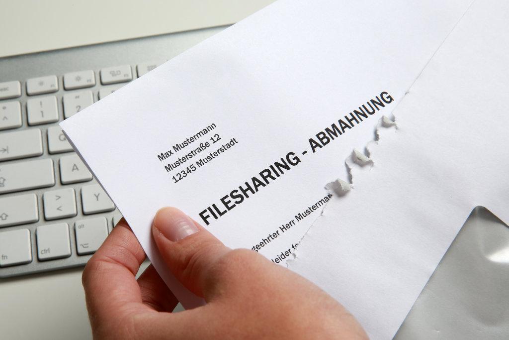 Filesharing-Abmahnung