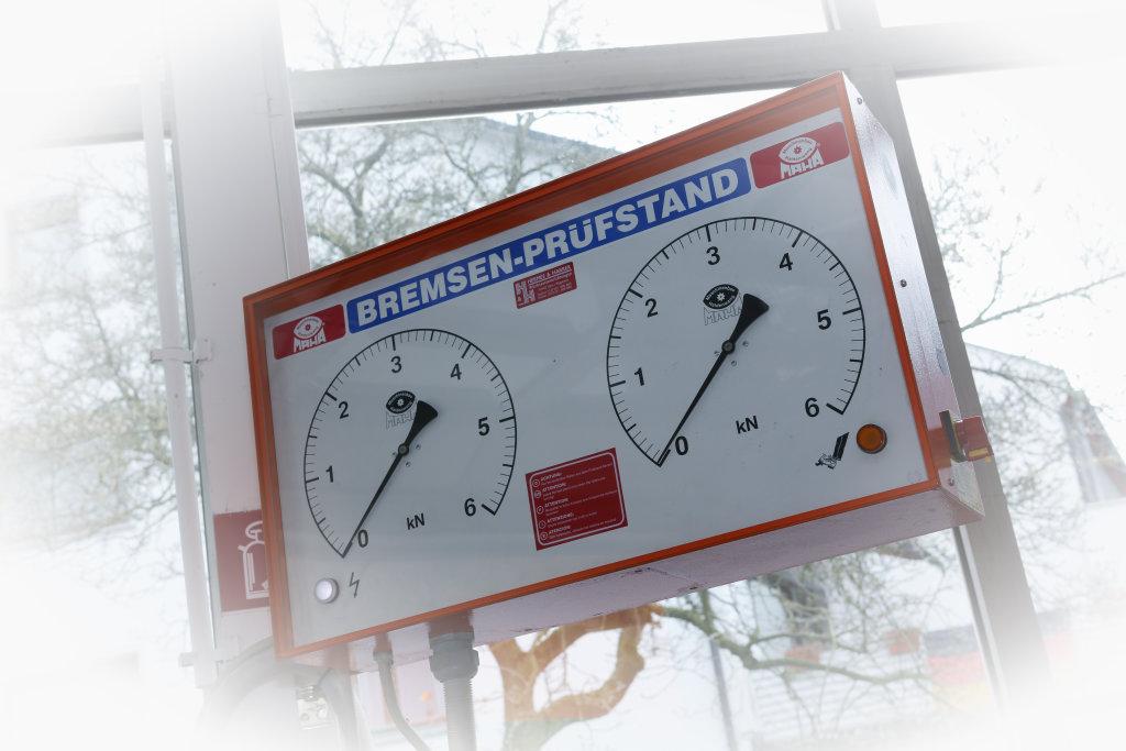 Bremsen-Prüfstand