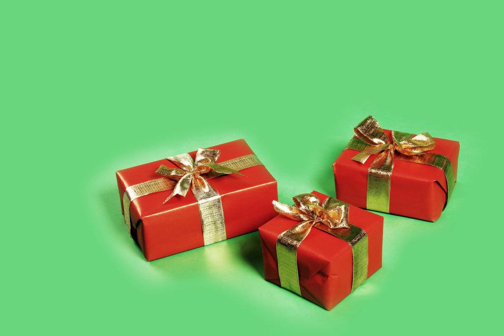 Geschenke (grün)