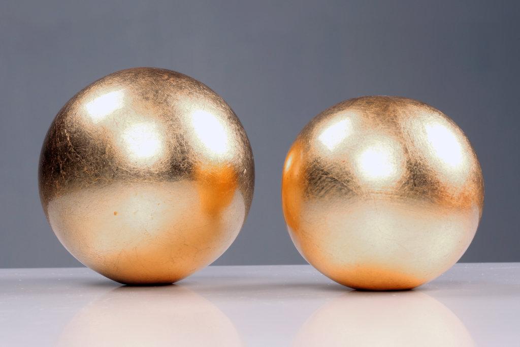 goldene Kugeln