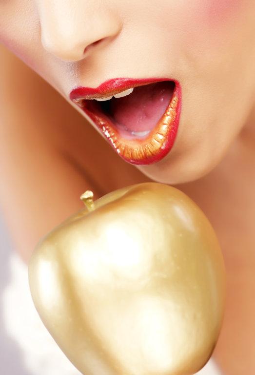 goldener Apfel