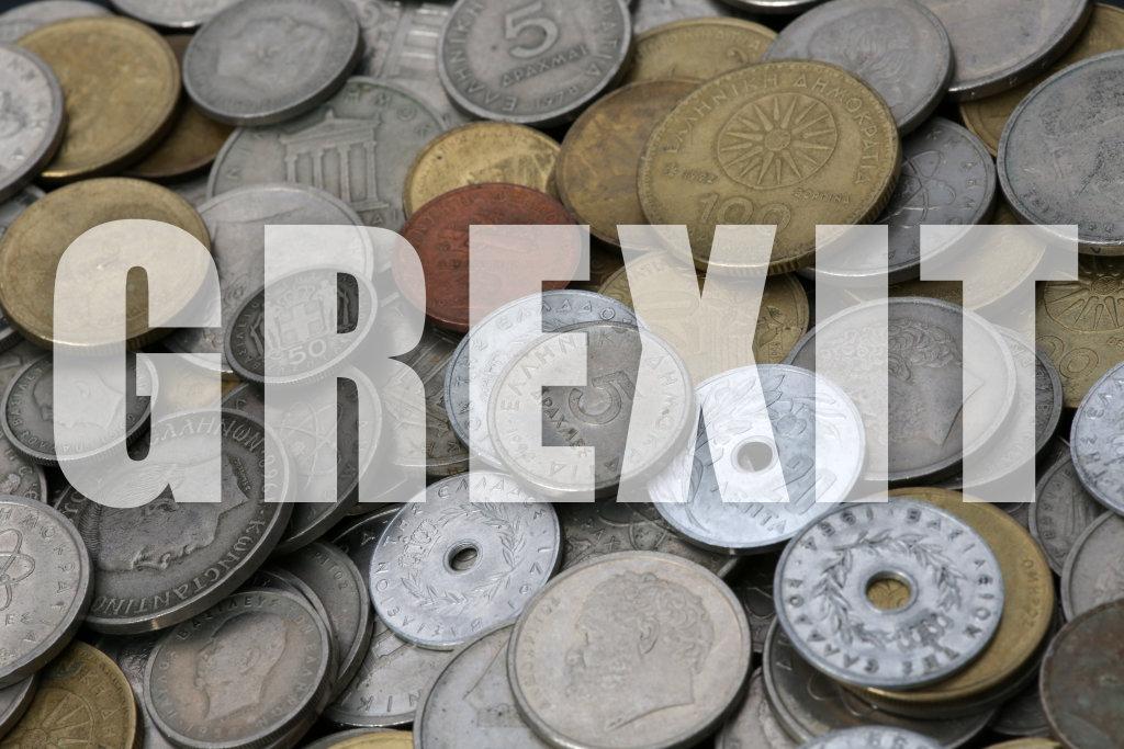 Drachmen und Lepta - Grexit