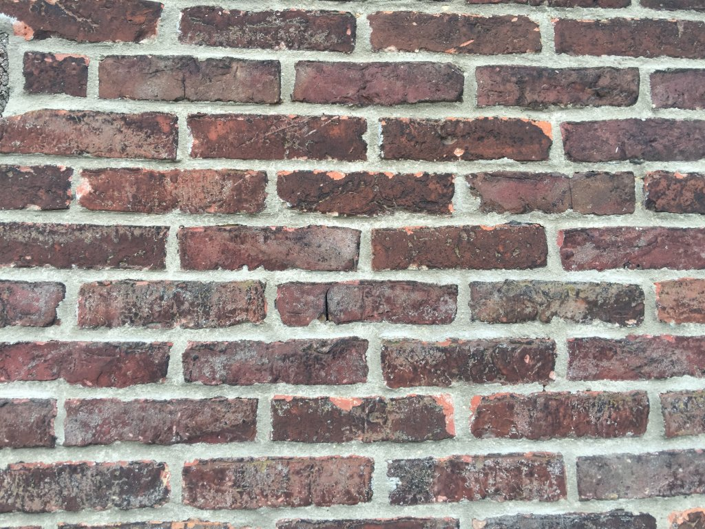 Backstzein Mauer