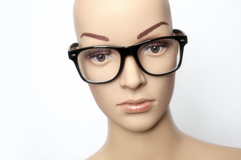 Beauty mit Brille