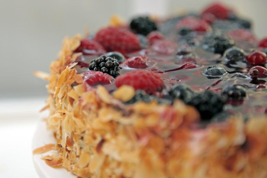 Beeren Kuchen