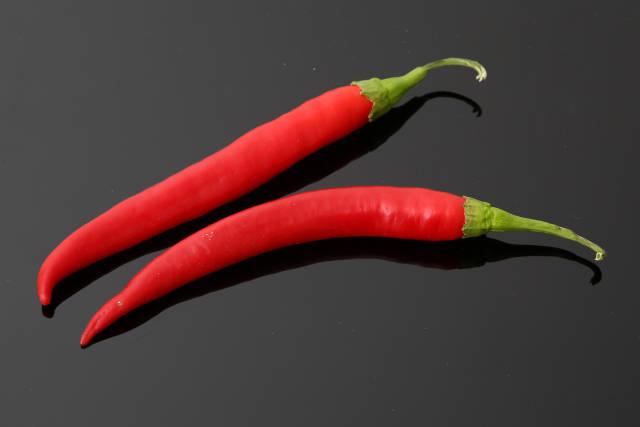 rote Chilischoten