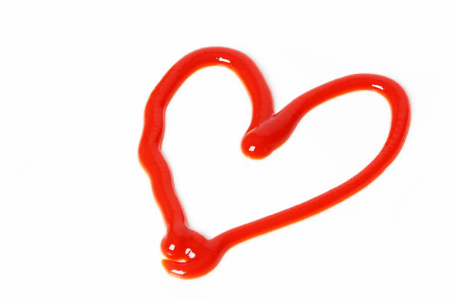 Ketchup Herz