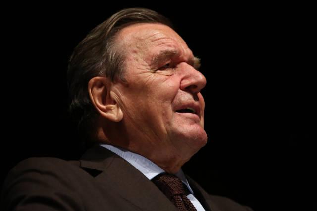 Gerhard Schröder Portrait