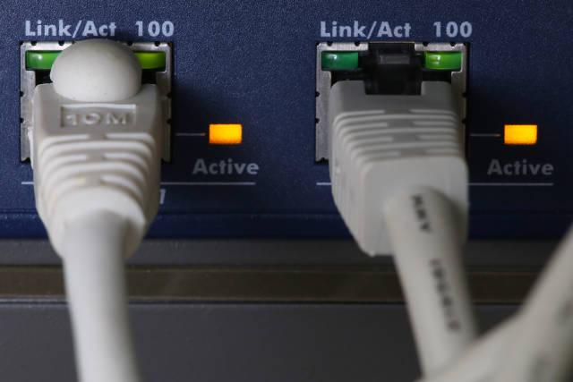 Netzwerk Stecker