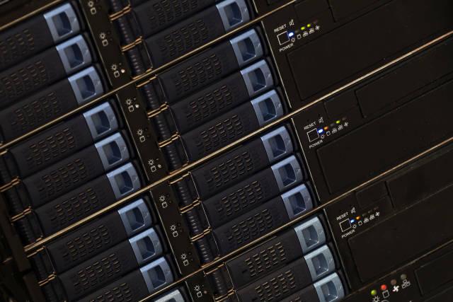 Festplatten im Server
