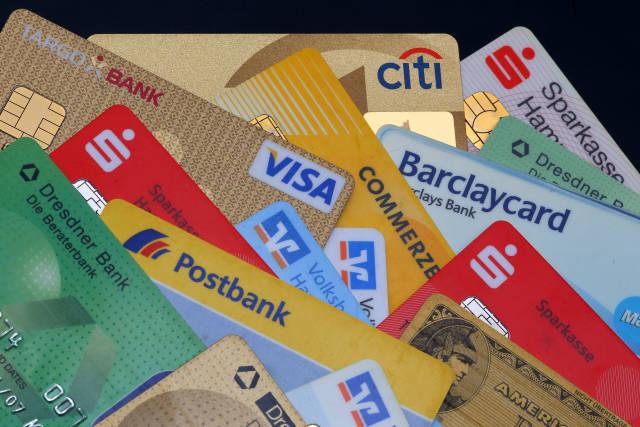 EC-Karten und Kreditkarten