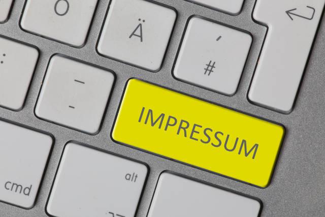Impressum (gelb)