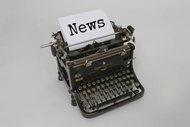 alte Schreibmaschine (News)