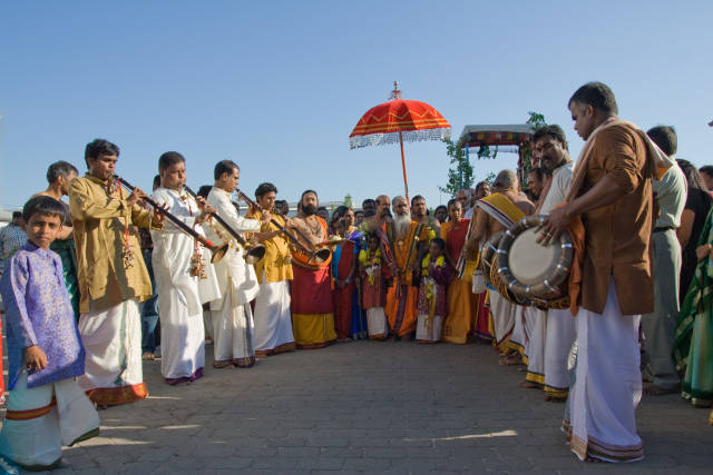 Hindufest Gartenfest in Hamm