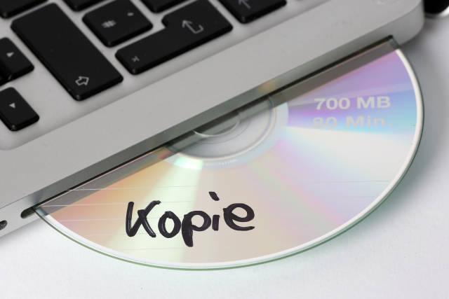 CD-ROM Kopie