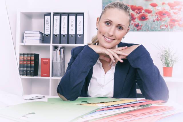 Büro und Akten