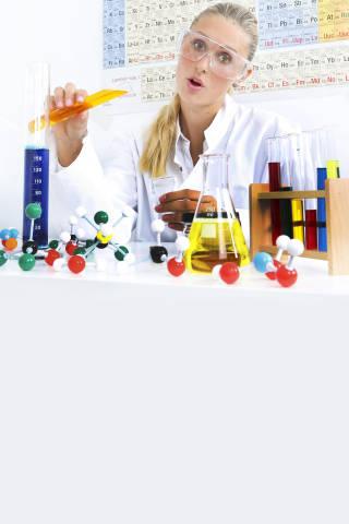 Experiment im Labor