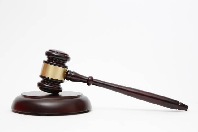 Hammer für Richter oder Auktionator