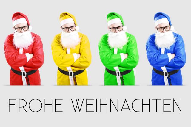 Weihnachtsmann - bunt