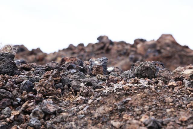Lava-Steine