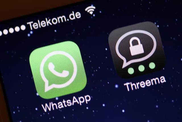 Whatsapp & Threema