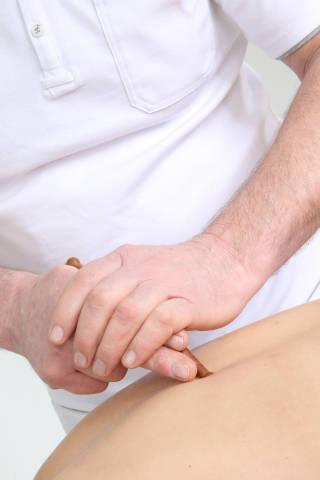 Stift-Massage