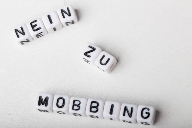 Nein zu mobbing