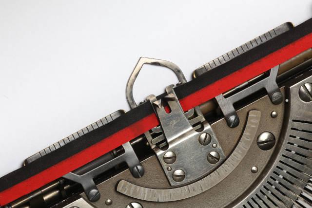 Farbband einer Schreibmaschine