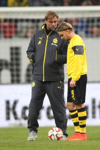 Jürgen Klopp und Marcel Schmelzer