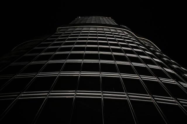 Burj Khalifa bei Nacht