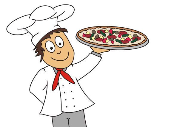 Pizzabäcker - Freisteller