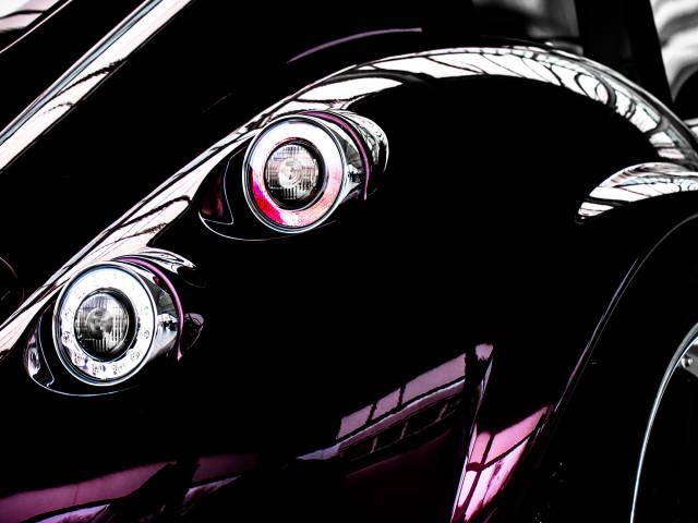 Heckansicht Wiesmann Roadster
