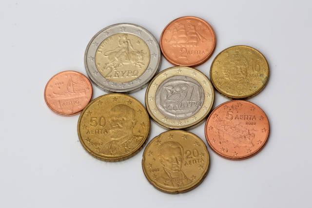 griechische Euromünzen