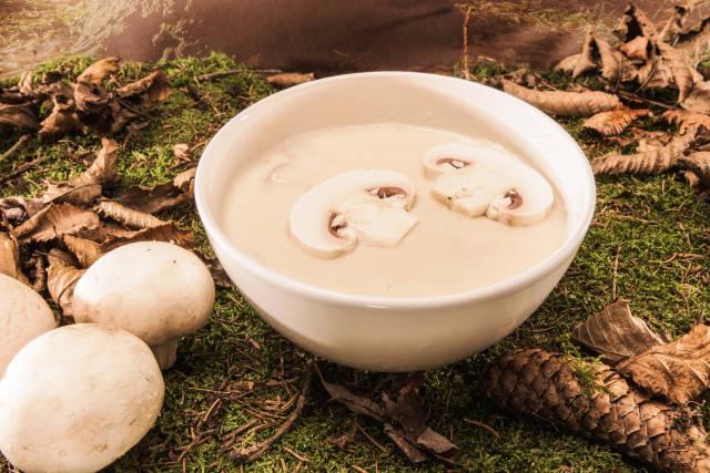 Lecker Pilzsuppe