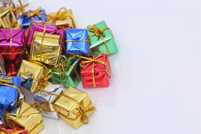 bunte Geschenke